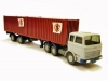 Wiking 52s, Container Sattelzug, 1:87