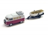 Wiking VW T1 Camping-Bus mit Boot